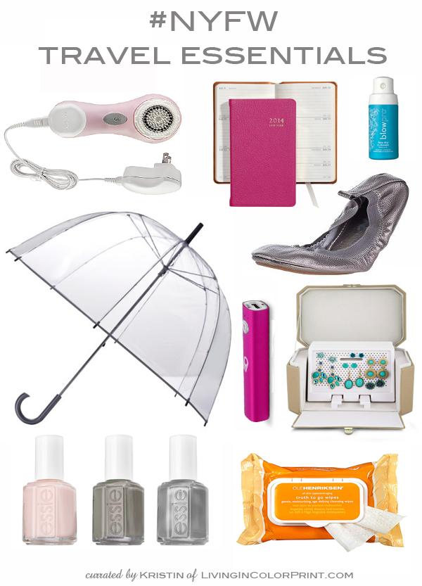 NYFW Travel Essentials
