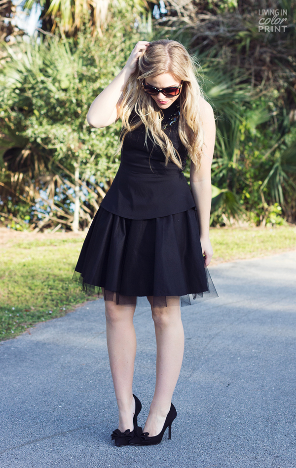 Black Tulle | Living In Color Print