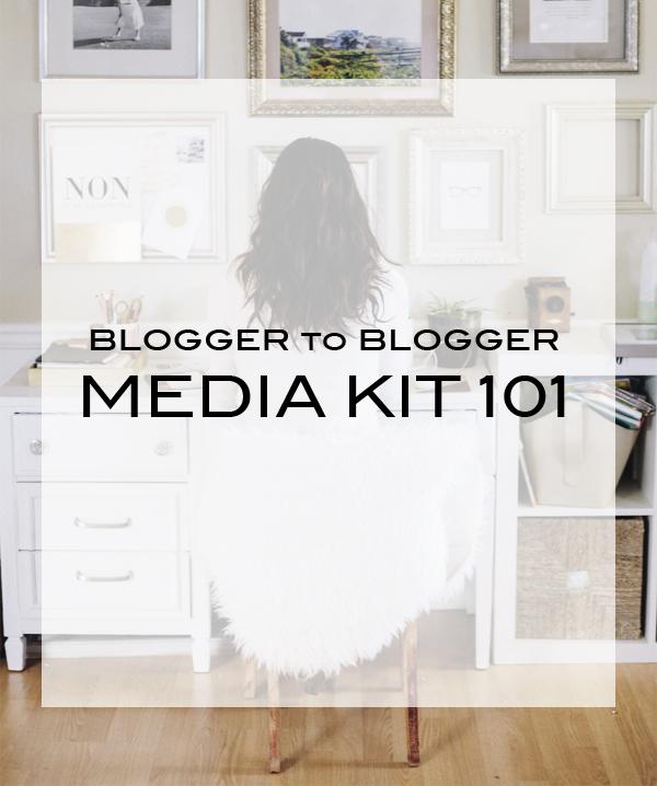 Blogger to Blogger   Media Kit 101
