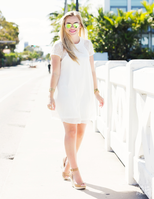 Easy Breezy White | Living In Color Print