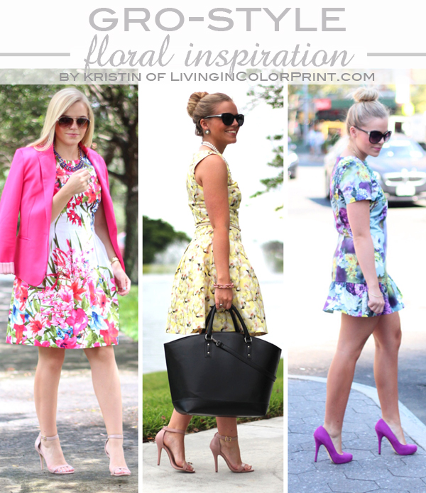 GRO-STYLE_Floral Inspiration by Living In Color Print