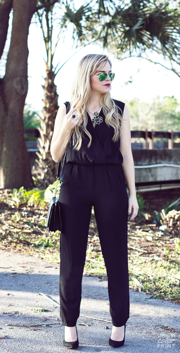 Jumpsuit | Living In Color Print