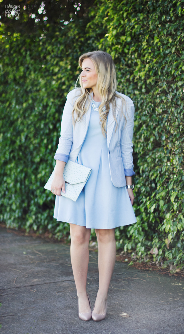 Sky Blue | Living In Color Print