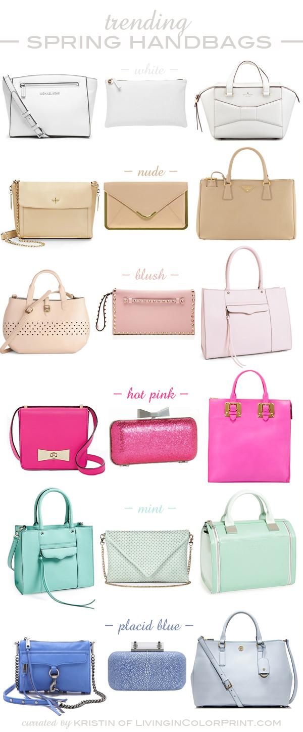 Trending Tuesday | Spring Handbags