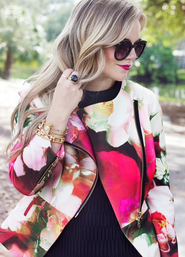 Floral Pant Suit | Living In Color Print