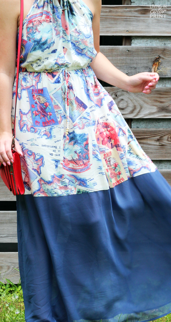 Global Maxi | Living In Color Print