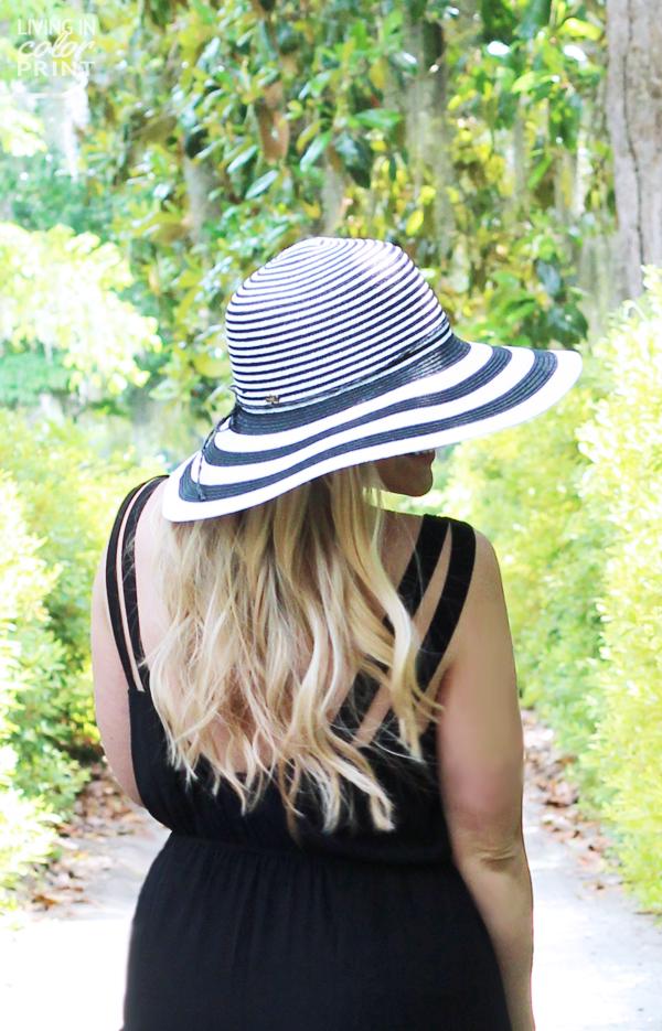 Stripe Hat | Living In Color Print