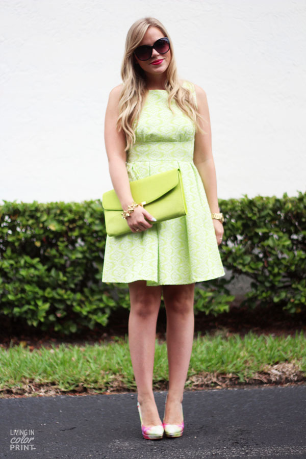 Lime | Living In Color Print