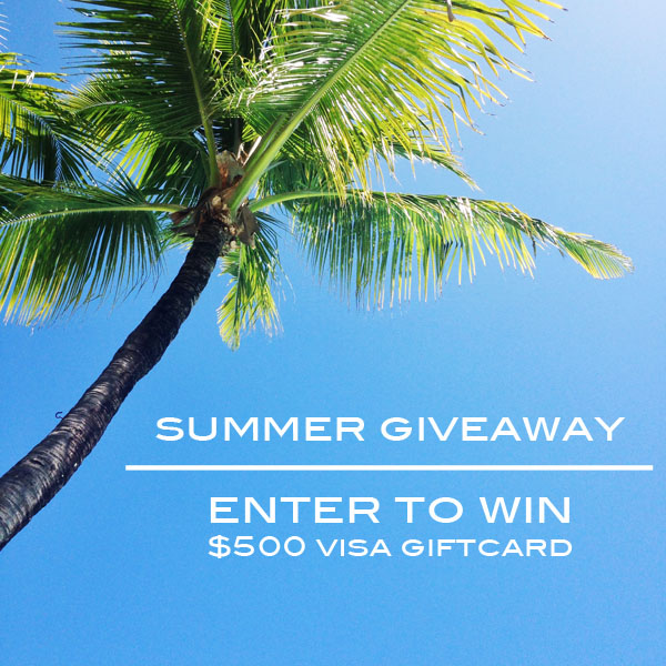$500 Summer Giveaway