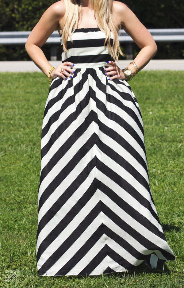 Black + White Maxi | Living In Color Print