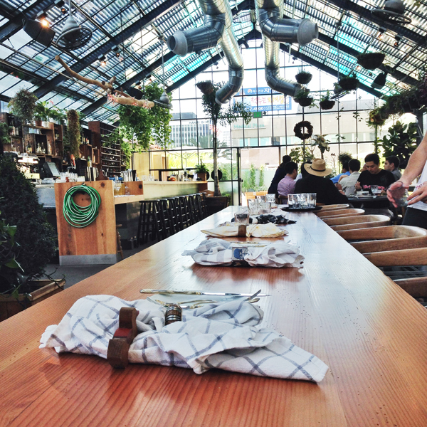 Commissary Restaurant | The Line Hotel LA