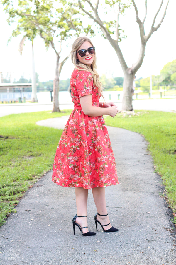 Fall Floral Midi | Living In Color Print