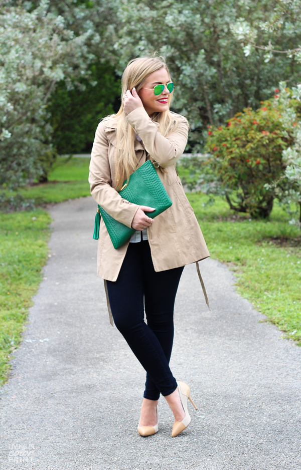 Green Clutch | Living In Color Print