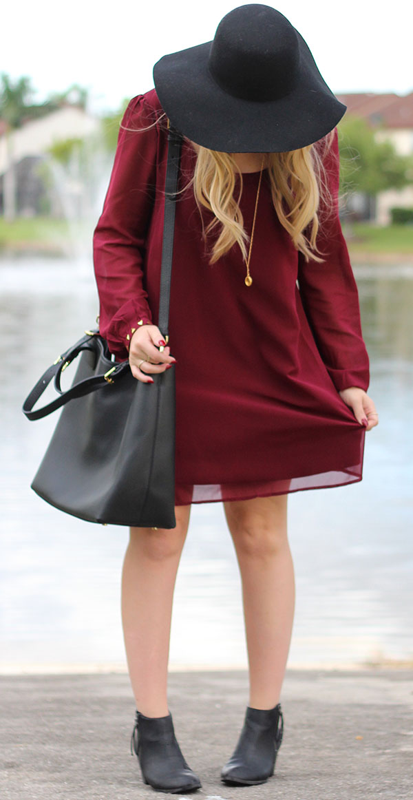 Seminole Style | Garnet Shift Dress
