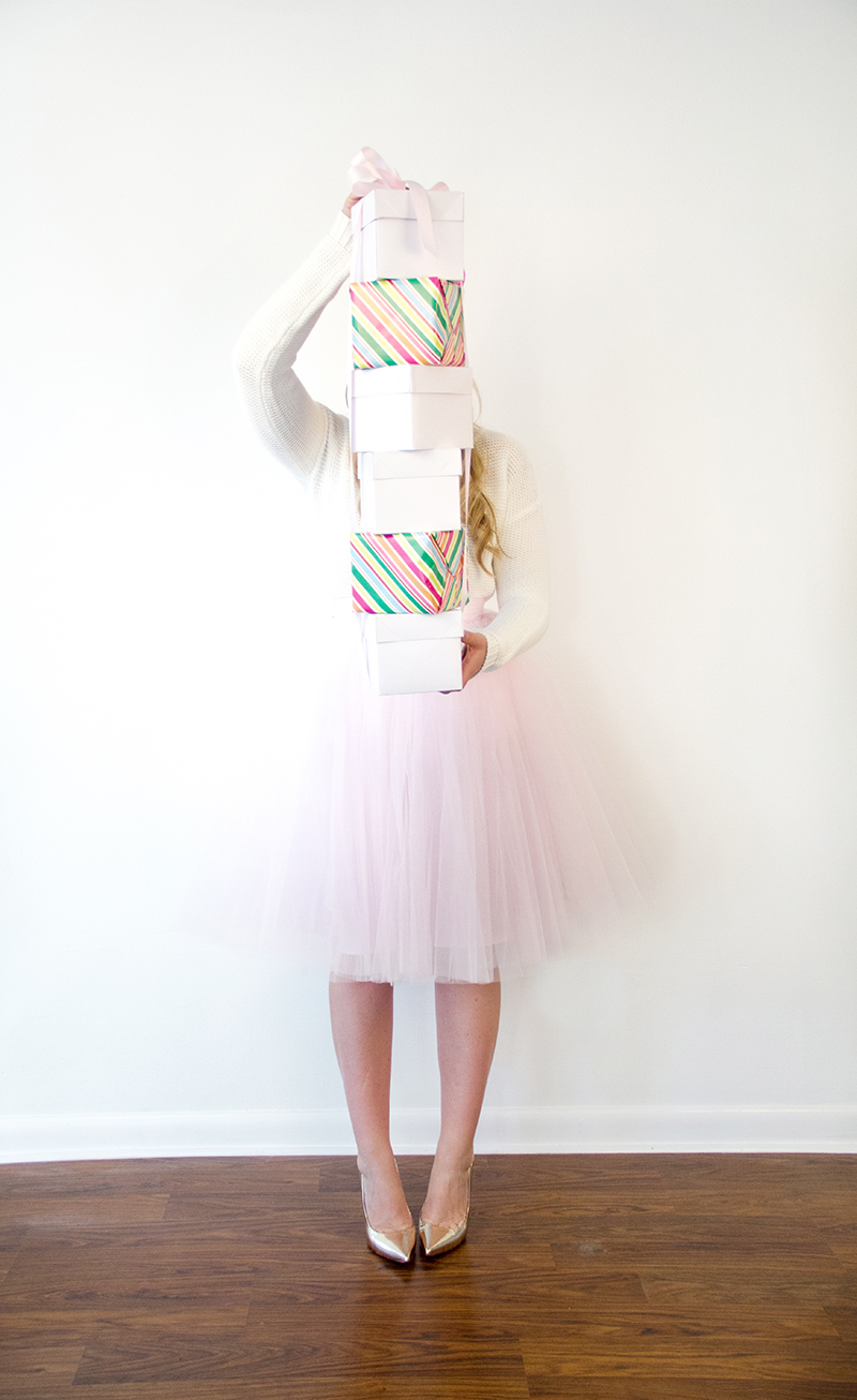 Holiday Presents + Pink Tulle