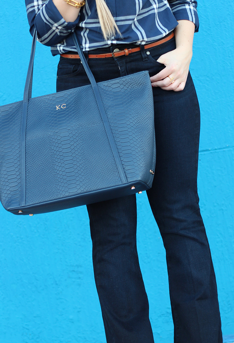 Navy Blue Tote - Giveaway