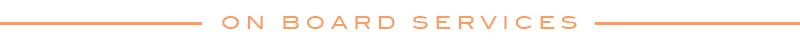 MSC Divina On Board Services