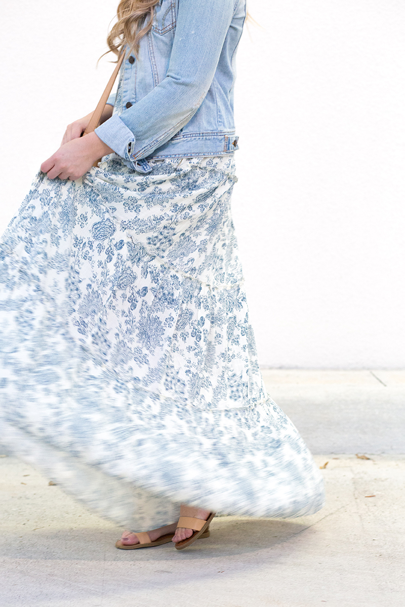 maxi-dress-and-jean-jacket