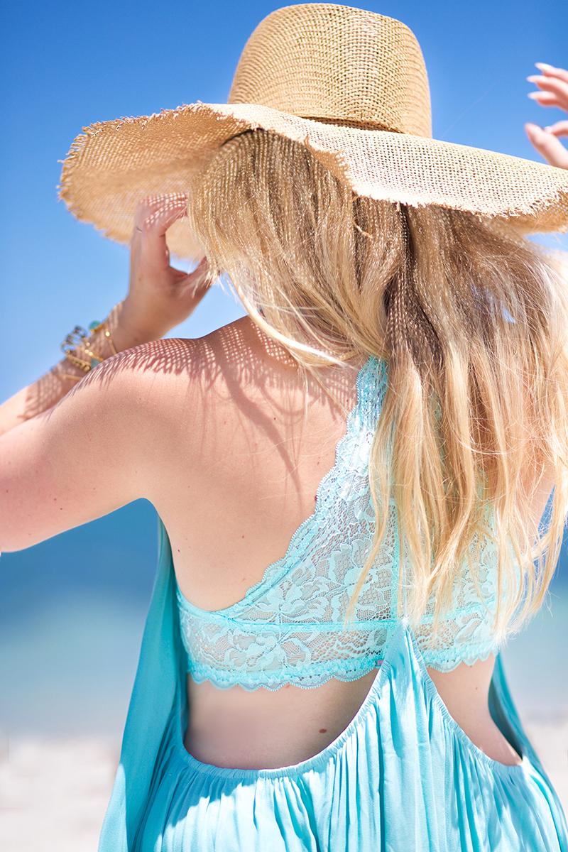 mint-summer-dress-straw-sun-hat