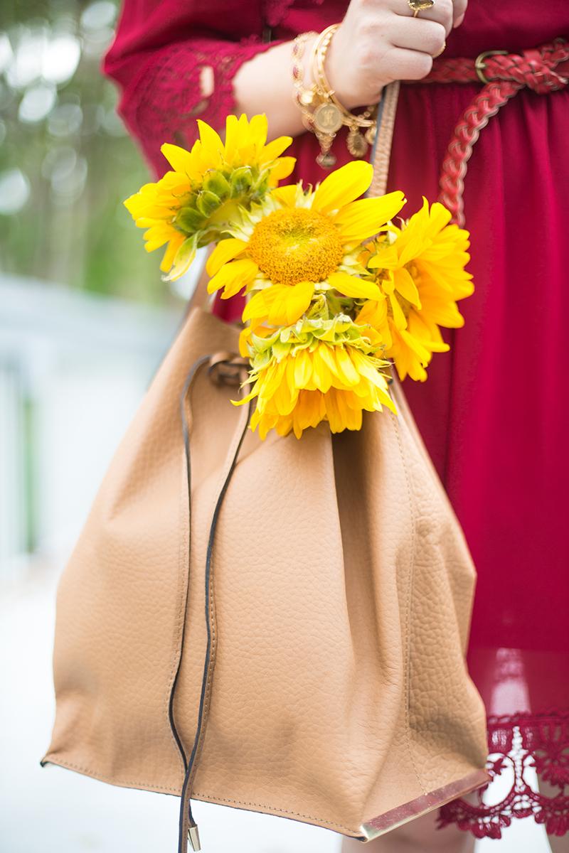 bucket-handbag-and-sunflowers
