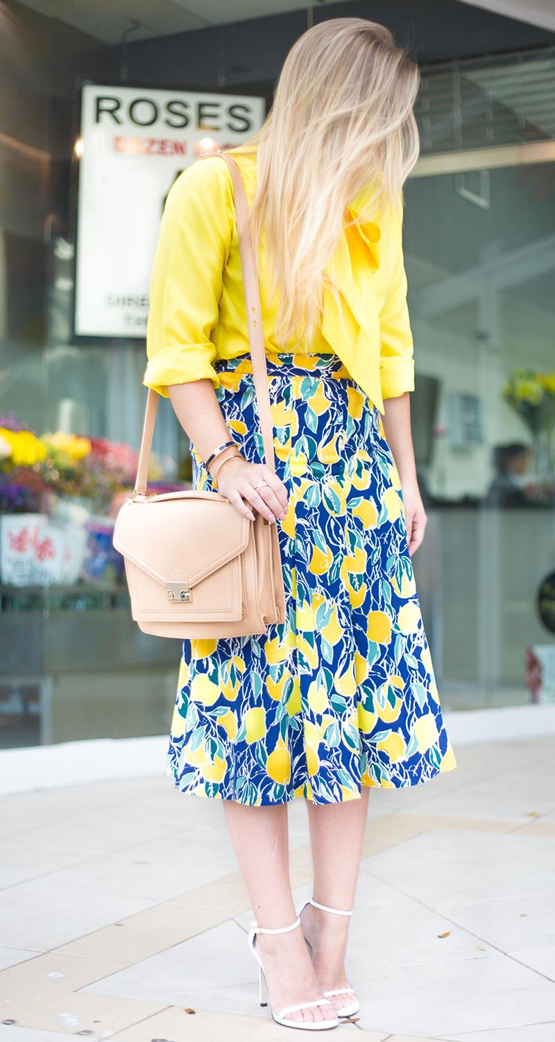 Lemon Skirt4