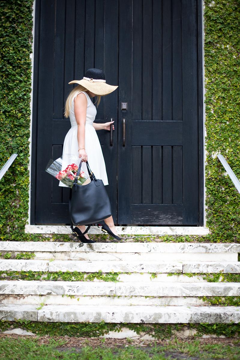Parisian White Dress + Hat3