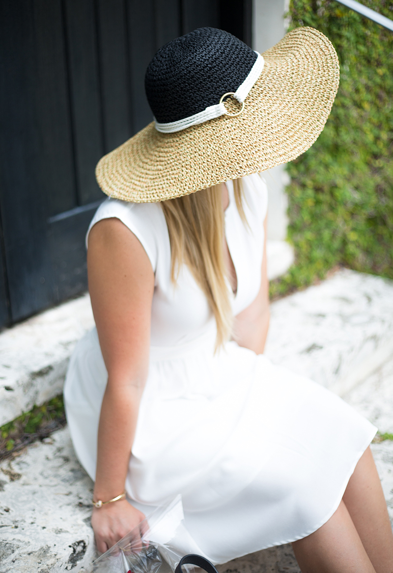 Parisian White Dress + Hat6
