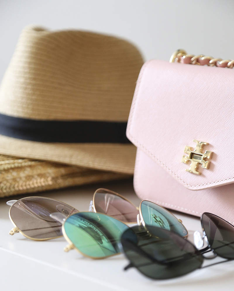 pale-pink-tory-burch-crossbody, mirrored-ray-ban-aviators