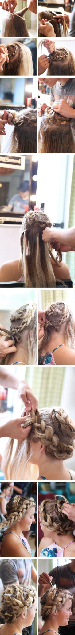 Chunky Spiral Braid Step-by-Step