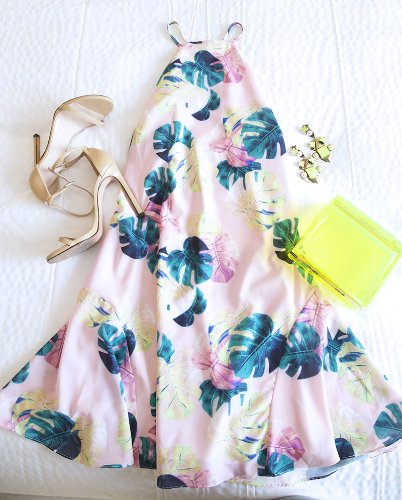 whiteny-eve-palm-print-dress