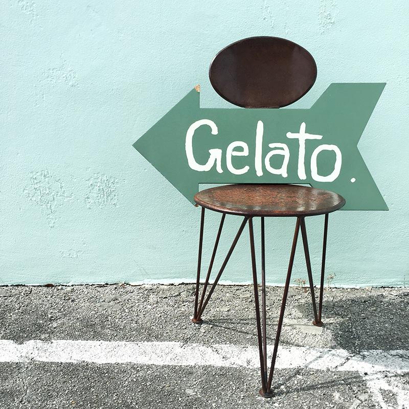 gelato sign