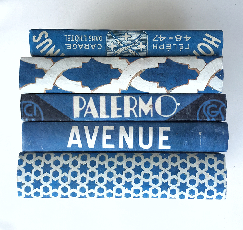vintage-blue-and-white-books