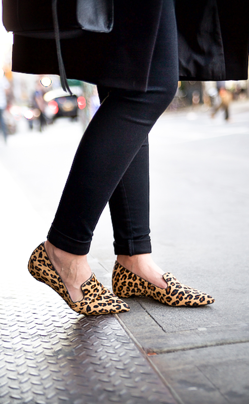leopard rockport shoes flats