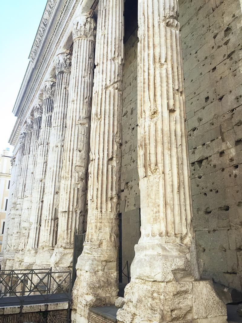 roman ruins during MSC Cruise
