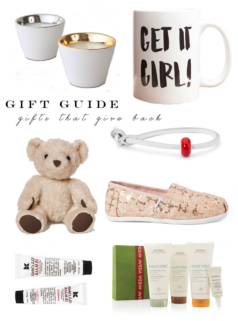 Gift Guide | Gifts that Give Back