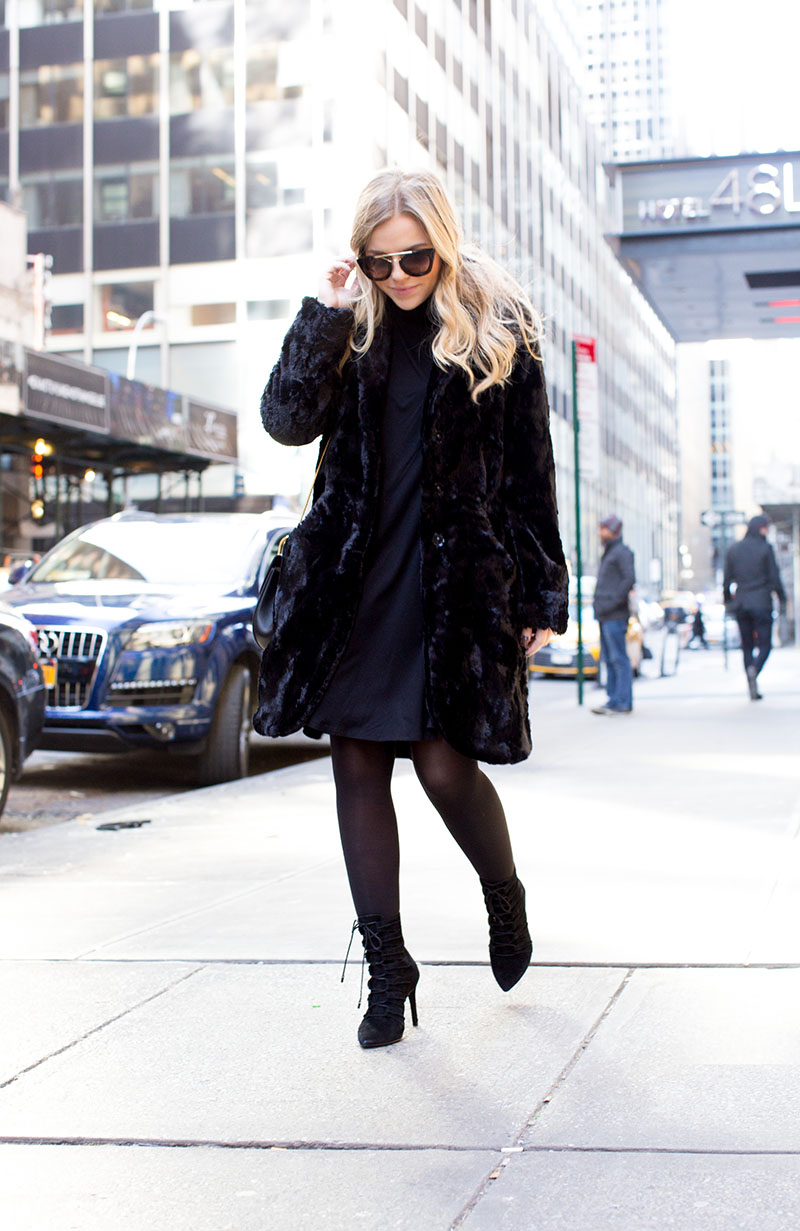 10 Winter Style Tips Straight from Nyfw, Coats and Sunglasses