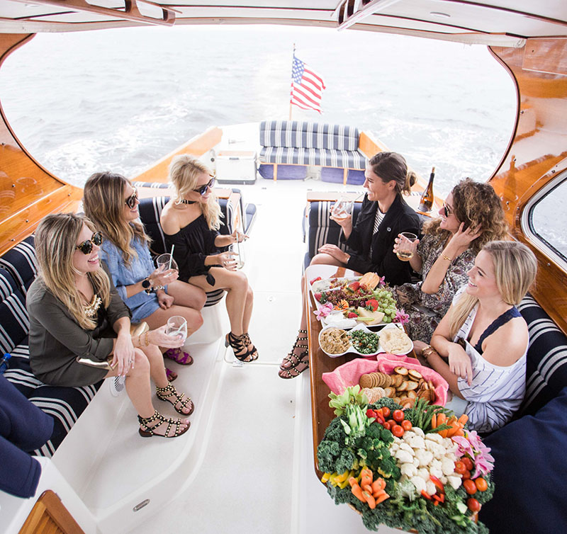 Boating with Sam Edelman