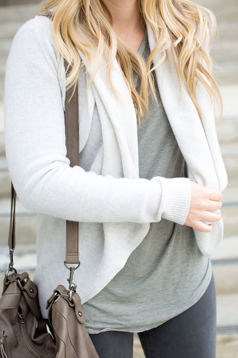 Grey Cashmere   Living In Color Print