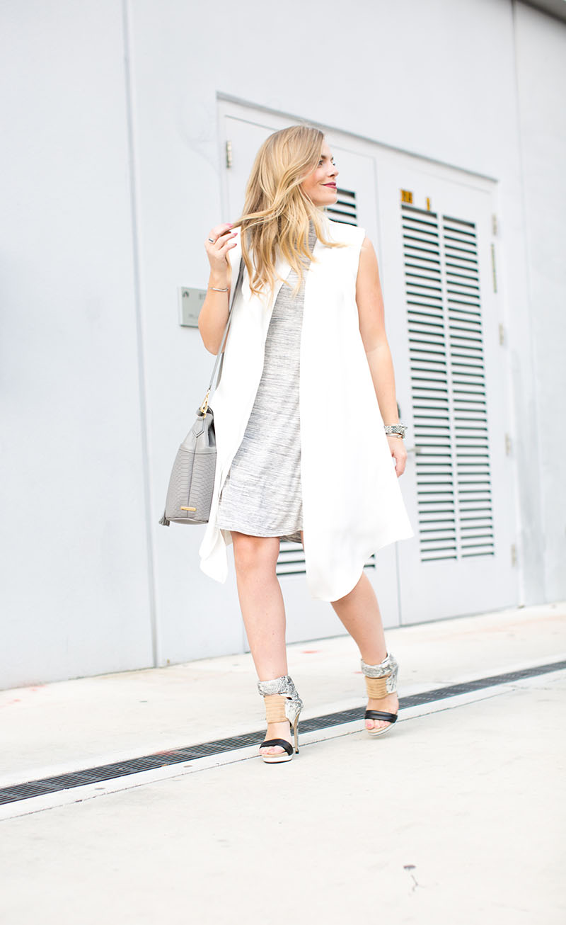 Grey Marble Dress