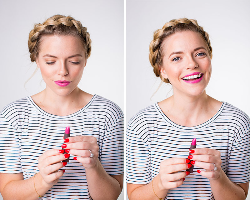 Burts Bees Fuchsia Lips for Spring