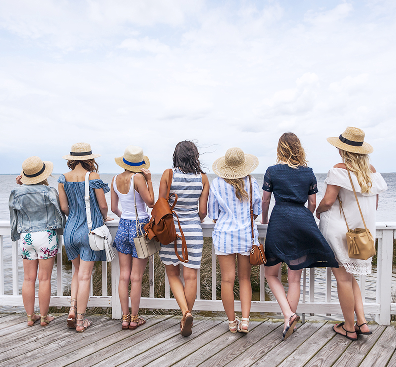 Girls Trip to Outer Banks, NC
