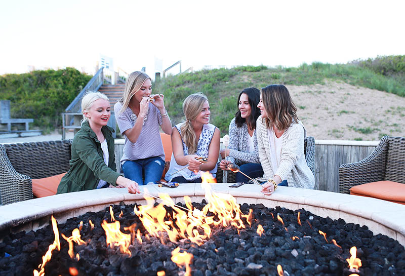 Summer Firepit, Sanderling Resort, Duck North Carolina