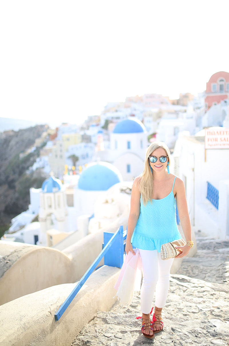 Sunset in Oia, Santorini | Greece Guide
