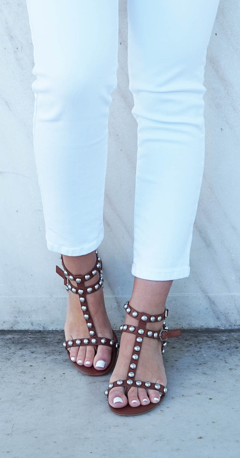 Sam Edelman studded sandals