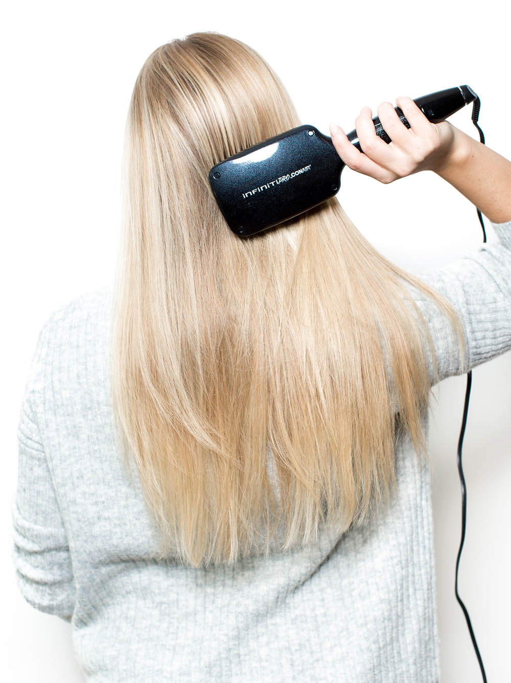 how to get silky smooth straight hair