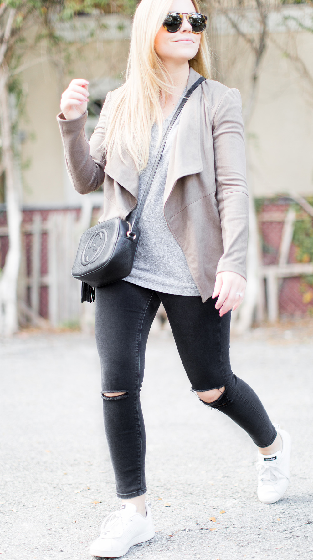 Casual Suede Jacket