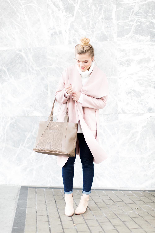 Pink Wrap Jacket