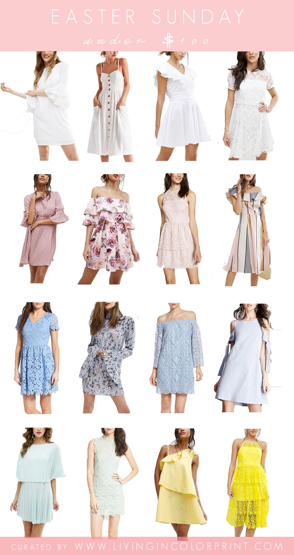 Easter Sunday Dresses under $100