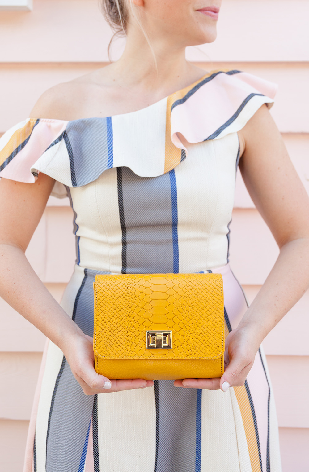 Mustard GiGi New York Crossbody