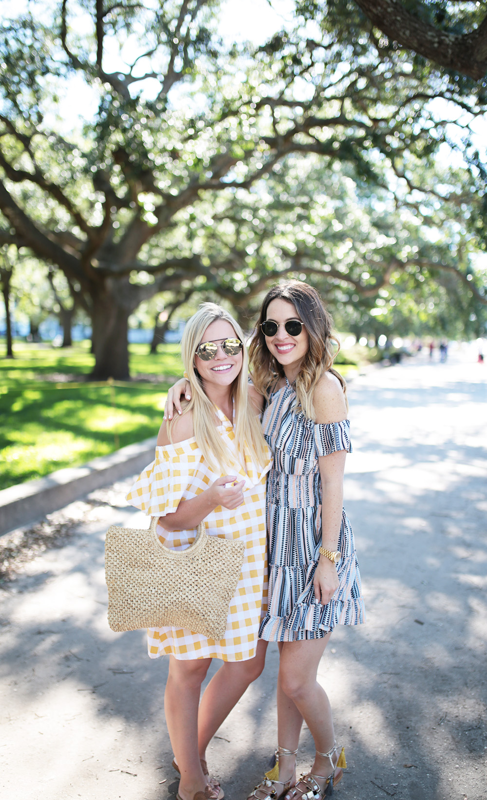 Bloggers at The Battery, Charleston